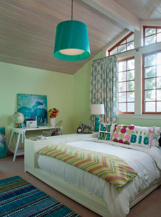 Комната для молодой девушки дизайн спального места