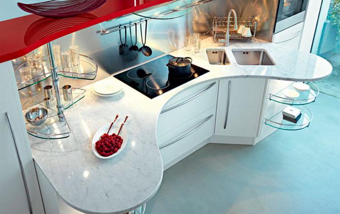 Как можно обустроить кухонный остров - фото