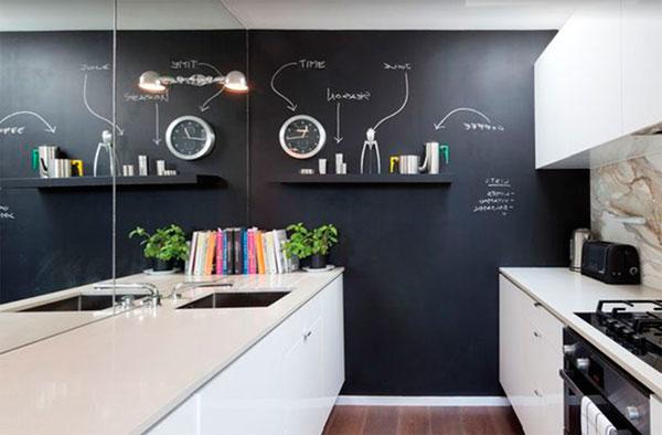 Грифельная и магнитная краска для стен