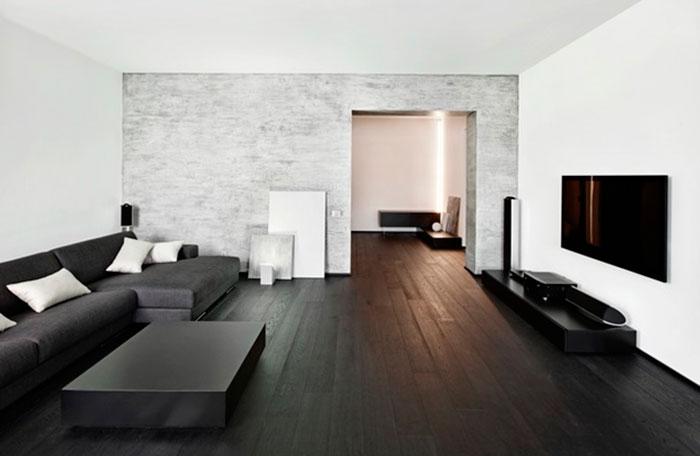 современные дома в стиле минимализм