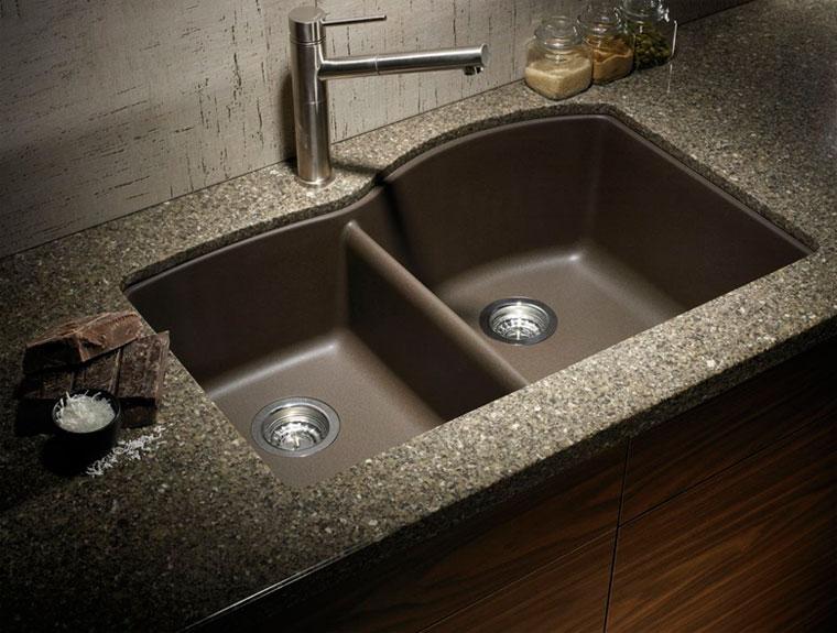 Кухонные мойки гранитные