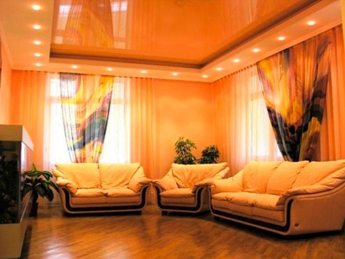 Какого цвета натяжной потолок выбрать