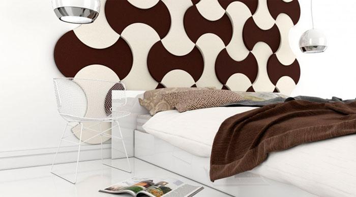 Декоры из гипса, пластика, дерева, плитки и кирпича