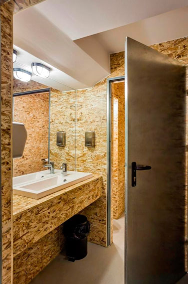 Применение ОСБ для обшивки стен в ванной комнате