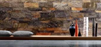 Декор стен камнем, панели под камень для внутренней отделки стен