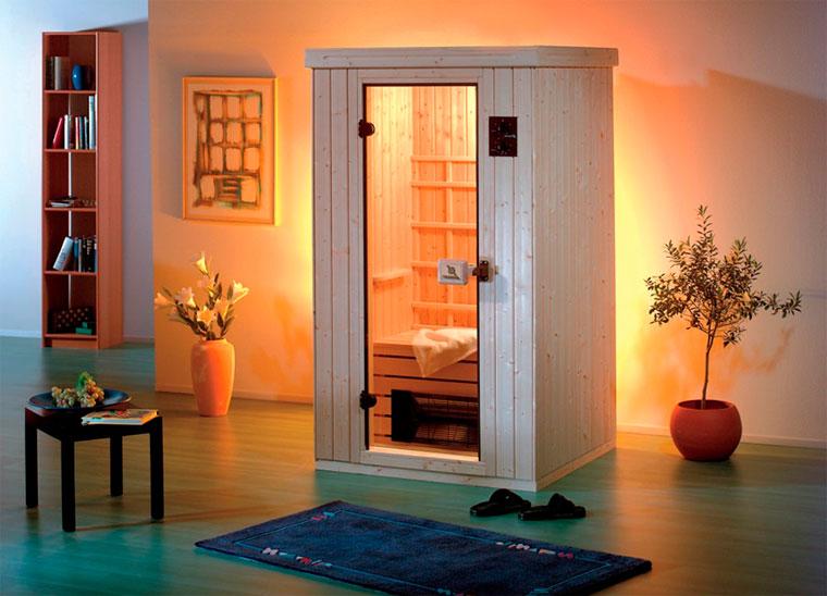 Мини-сауны для квартиры в ванной