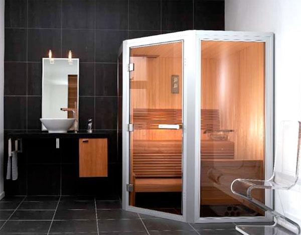 Финская сауна для квартиры