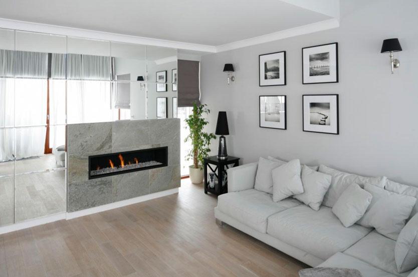 Как применить серый цвет стен в интерьере