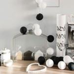 Сotton balls или светильник хлопоковые шарики