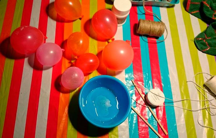 Порядок работ по изготовлению шариков своими рукам
