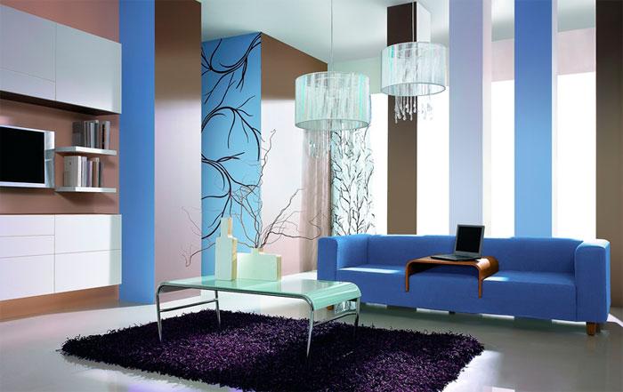 Как правильно выбирать сочетание цветов штор и обоев в интерьере