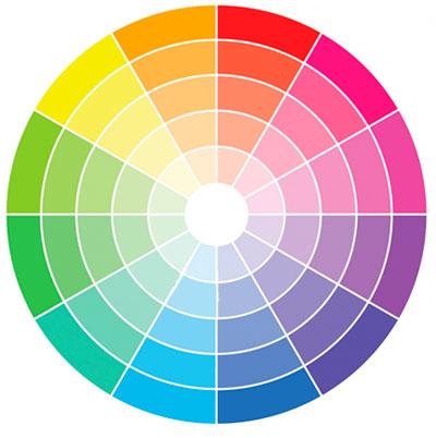 Сочетание и комбинации цветов в интерьере