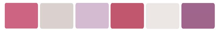 Цвета, которые гармонируют с фиолетовым
