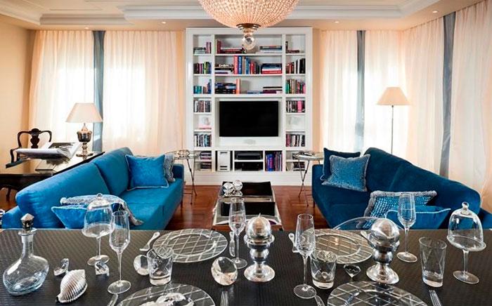 Шкафы и стеллажи, как декор интерьера