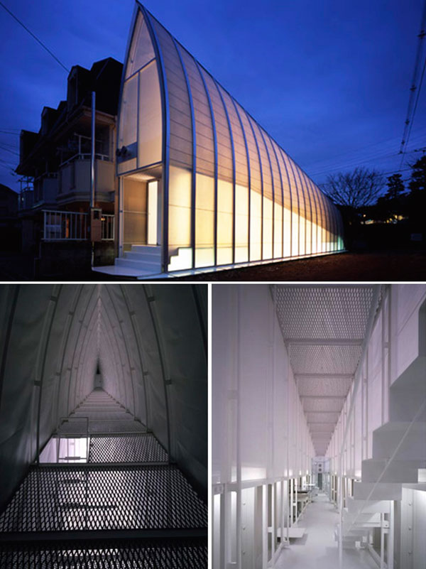 Японское чудо архитектуры Lucky Drops