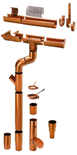 состав водосточной системы для отвода дождевой воды