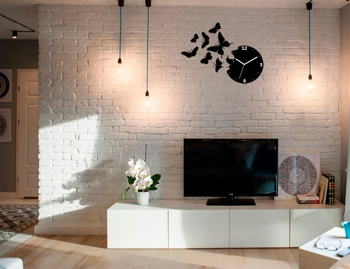 Butterflies to decorate the interior of the living room