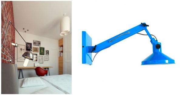 Настенный светильник в стиле лофт