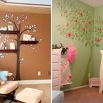 Интересные и оригинальные идеи декора стен в детской – фото