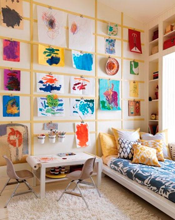 Идеи картин в детскую комнату своими руками 88