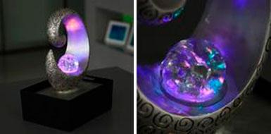 модели со специальным стеклянным шаром