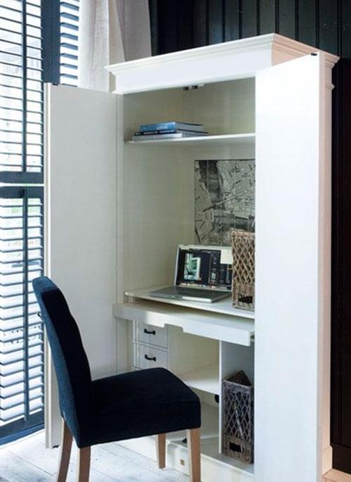 кабинет в шкафу
