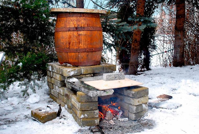 Коптильня холодного и горячего копчения своими руками
