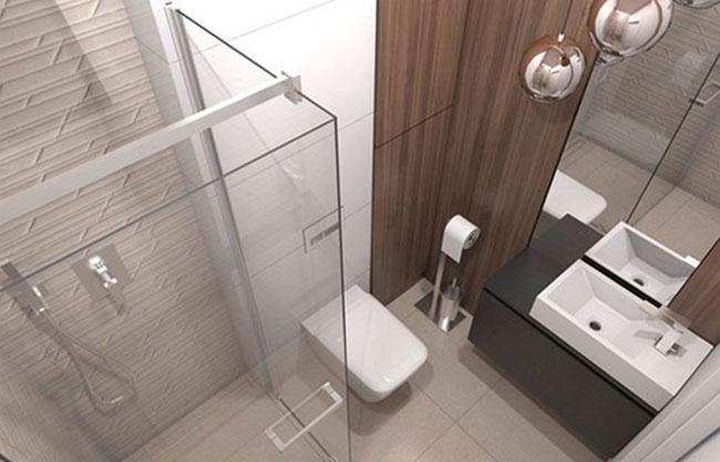 Душевая кабина – идеальное решение для интерьера маленькой ванной
