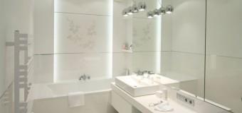 Дизайн маленькой ванной комнаты с туалетом
