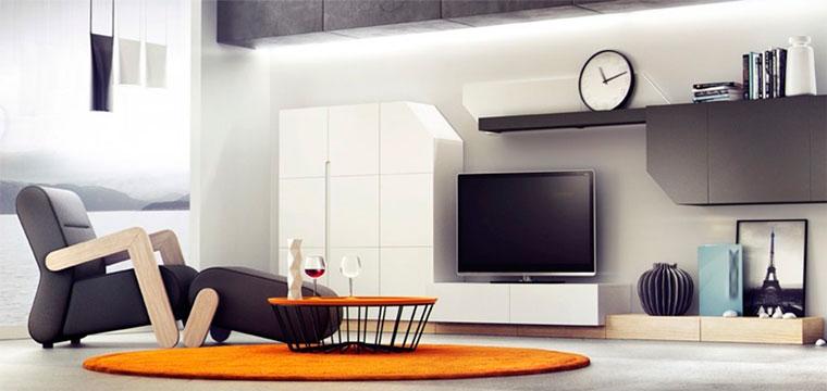 Модульные гарнитуры для гостиной