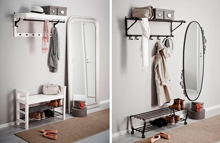 Дизайн интерьера – шкаф для обуви