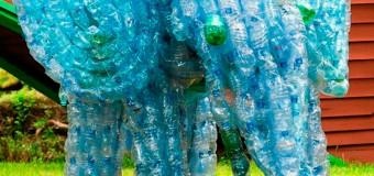 Поделки для сада из пластиковых бутылок – фото