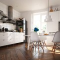 Современные полы на кухне