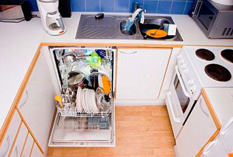 Small dishwasher under the sink