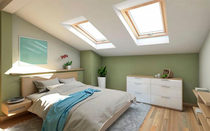 Как увеличить потолок – правильная покраска