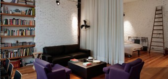 Спальня и гостиная в одной комнате – дизайн