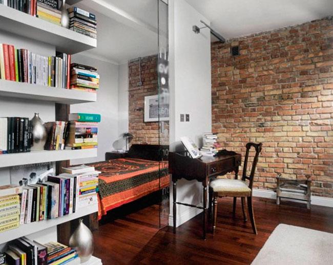 Дизайн комнаты спальни-гостиной, фото
