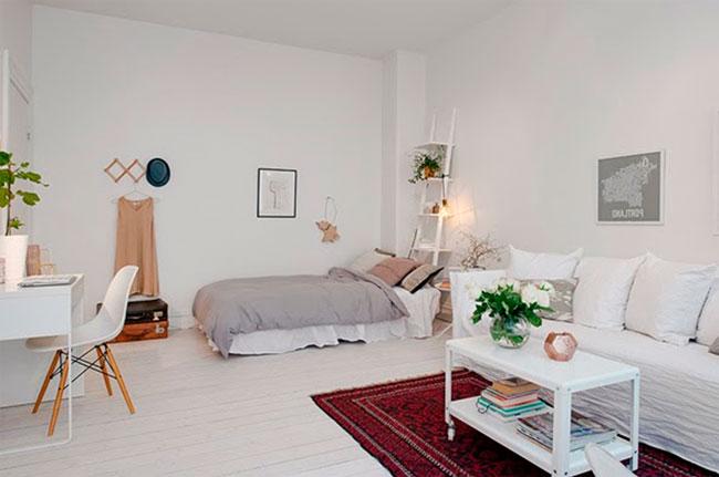 Спальня и гостиная в одной комнате – дизайн и фото