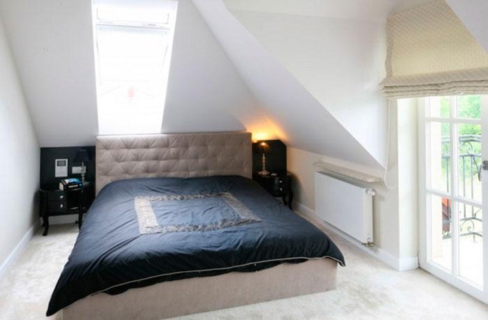 Цвета стен и мебели в маленькой спальне