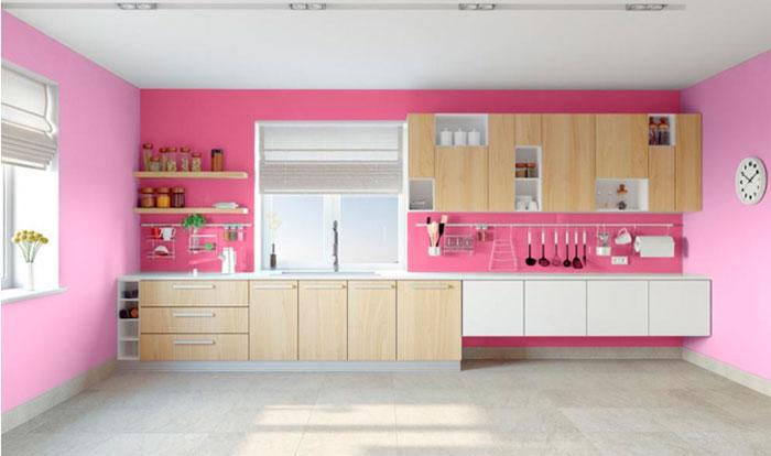 Розовые тона