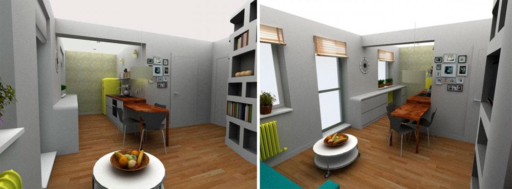 Идеи дизайна для однокомнатной квартиры