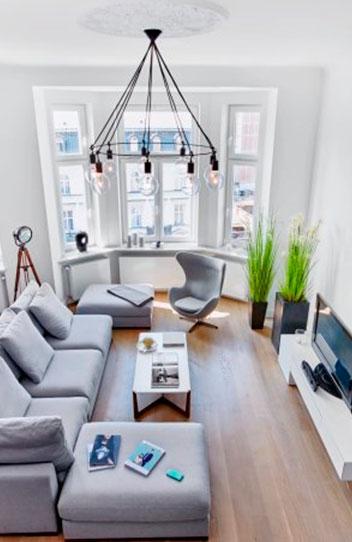 Квартиры с эркером – фото и варианты обустройства