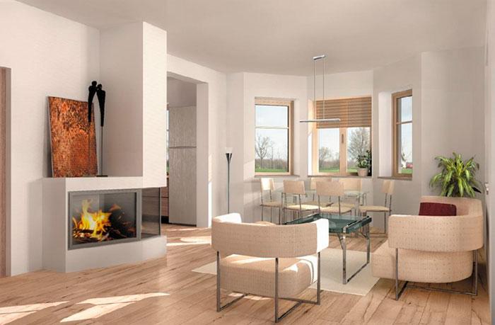 Планировки квартир эркером – фото