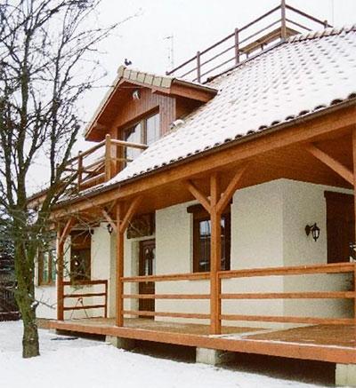 Крыльцо для частного дома, фото