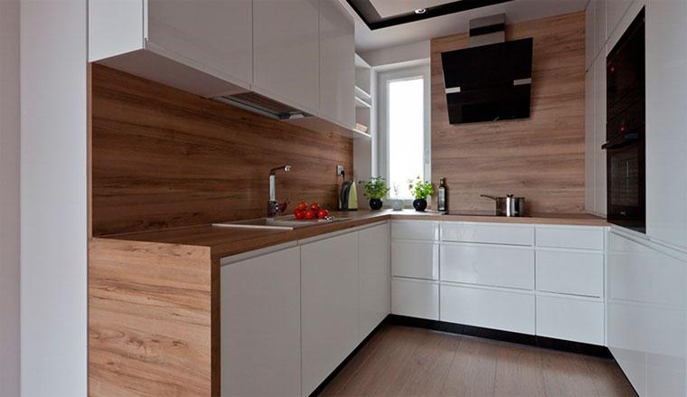 Интерьер для маленьких кухонь