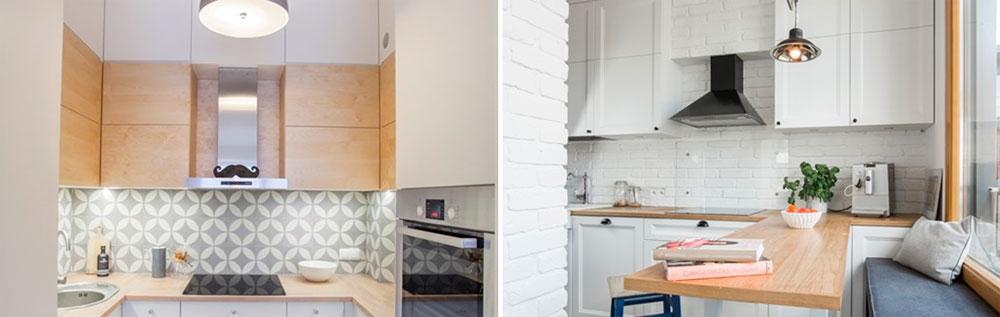 Маленькая кухня дизайн интерьера – фото