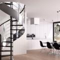Лестница металлическая на второй этаж