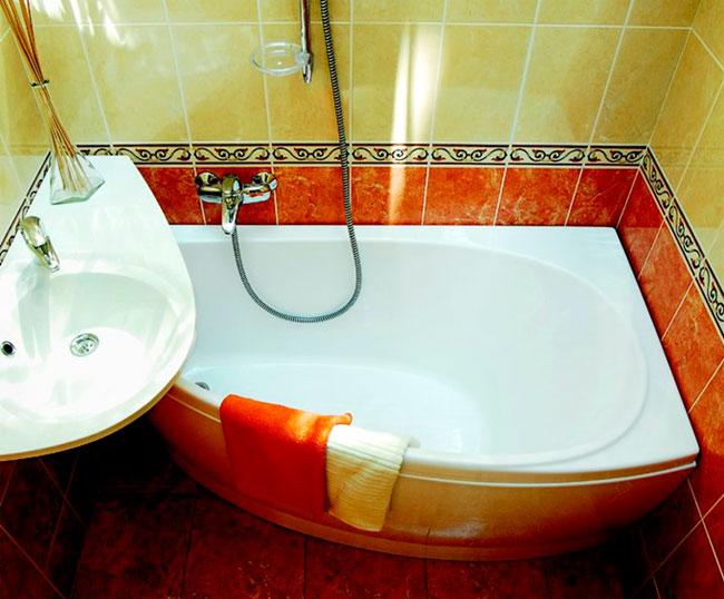 Ремонт в ванной туалете маленькой