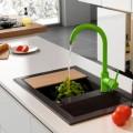 Цветные смесители для кухни