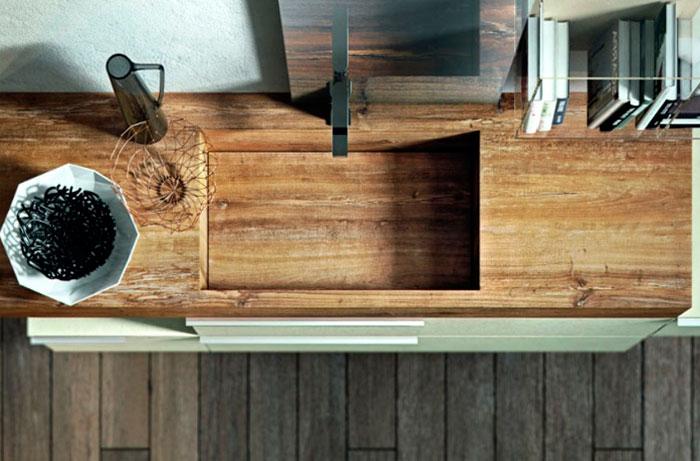 Модель раковины из коллекции мебели бренда Edone
